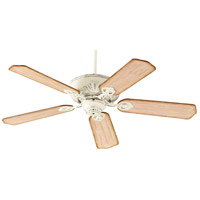 Quorum 78605-70 Chateaux 60 inch Persian White with Distressed Weathered Pine Blades Indoor Ceiling Fan