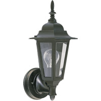 Signature 1 Light 15 inch Black Outdoor Wall Lantern