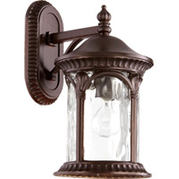 Riviera 1 Light 16 inch Oiled Bronze Outdoor Wall Lantern