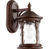 Riviera 1 Light 13 inch Oiled Bronze Outdoor Wall Lantern