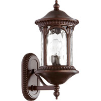 Riviera 1 Light 19 inch Oiled Bronze Outdoor Wall Lantern