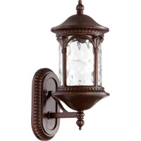 Quorum 7901-86 Riviera 1 Light 16 inch Oiled Bronze Outdoor Wall Lantern