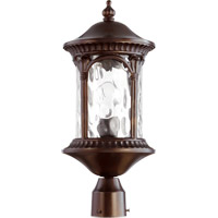 Riviera 1 Light 20 inch Oiled Bronze Post Lantern