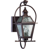 Quorum 7919-1-86 Bourbon Street 1 Light 16 inch Oiled Bronze Outdoor Wall Lantern