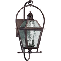 Quorum 7919-2-86 Bourbon Street 2 Light 21 inch Oiled Bronze Outdoor Wall Lantern
