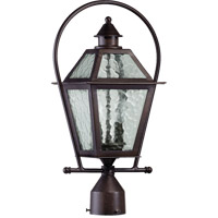 Quorum 7921-2-86 Bourbon Street 2 Light 20 inch Oiled Bronze Post Lantern