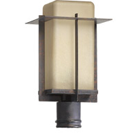 McKee 1 Light 16 inch Toasted Sienna Post Lantern