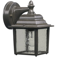Quorum 793-25 Signature 1 Light 9 inch Timberland Granite Outdoor Wall Lantern