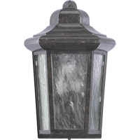 Quorum 7932-45 Signature 1 Light 12 inch Baltic Granite Outdoor Wall Lantern