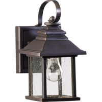 Quorum 7940-5-86 Pearson 1 Light 10 inch Oiled Bronze Outdoor Wall Lantern