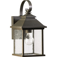 Pearson 1 Light 14 inch Oiled Bronze Outdoor Wall Lantern