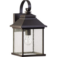 Quorum 7940-9-86 Pearson 1 Light 18 inch Oiled Bronze Outdoor Wall Lantern