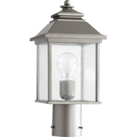 Quorum International Pearson 1 Light Post Lantern in Graphite 7942-7-3