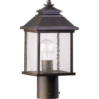 Pearson 1 Light 15 inch Oiled Bronze Post Lantern