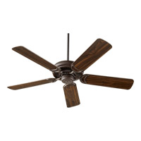 Quorum 79525-86 Venture 52 inch Oiled Bronze Ceiling Fan