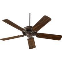 Quorum 79525-86 Venture 52 inch Oiled Bronze Ceiling Fan