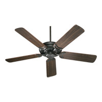 Quorum 79525-95 Venture 52 inch Old World with Rosewood Blades Ceiling Fan