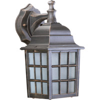Quorum International Thomasville 1 Light Outdoor Wall Lantern in Rust 798-5
