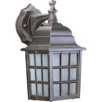 Quorum 798-5 Thomasville 1 Light 12 inch Rust Outdoor Wall Lantern