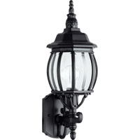 Quorum 7989-1-15 Croix 1 Light 20 inch Black Outdoor Wall Lantern