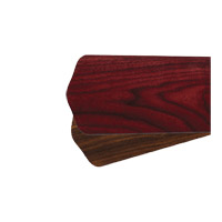 Quorum International Fan Accessory Fan Blades in Rosewood and Walnut 8-78525-44