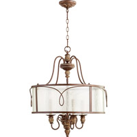 Quorum 8006-4-39 Salento 4 Light 22 inch Vintage Copper Pendant Ceiling Light