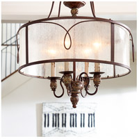 Quorum 8006-4-39 Salento 4 Light 22 inch Vintage Copper Pendant Ceiling Light alternative photo thumbnail