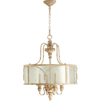 Quorum 8006-4-70 Salento 4 Light 22 inch Persian White Pendant Ceiling Light