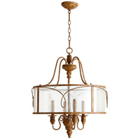 Quorum 8006-4-94 Salento 4 Light 22 inch French Umber Pendant Ceiling Light