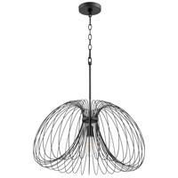 Quorum 806-24-69 Fort Worth 1 Light 24 inch Noir Pendant Ceiling Light