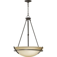 Quorum International Bancroft 4 Light Pendant in Old World 8061-4-95
