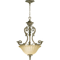 Quorum 8100-3-58 Barcelona 3 Light 20 inch Mystic Silver Pendant Ceiling Light
