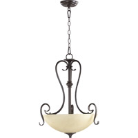 Powell 3 Light 19 inch Toasted Sienna Pendant Ceiling Light