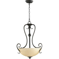 Powell 3 Light 19 inch Old World Pendant Ceiling Light