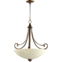 Quorum International Lariat 4 Light Pendant in Oiled Bronze 8131-4-86