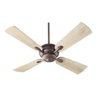 Quorum 81524-8641 Valor 52 inch Oiled Bronze with Weathered Oak Blades Indoor Ceiling Fan