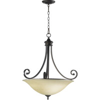 Quorum 8154-4-86 Bryant 4 Light 28 inch Oiled Bronze Pendant Ceiling Light