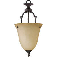 Quorum 816-44 Coventry 1 Light 11 inch Toasted Sienna Pendant Ceiling Light
