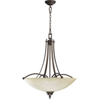 Aspen 5 Light 27 inch Oiled Bronze Chandelier Ceiling Light