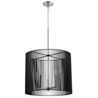 Quorum 819-5-65 Finura 5 Light 21 inch Satin Nickel Pendant Ceiling Light