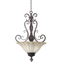 Coronado 4 Light 21 inch Gilded Bronze Pendant Ceiling Light
