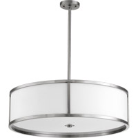 Quorum International Omega 5 Light Pendant in Satin Nickel 8200-34-65