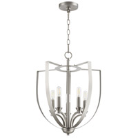 Quorum 8202-5-65 Dakota 5 Light 16 inch Satin Nickel Entry Pendant Ceiling Light