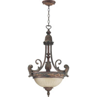 Quorum 8230-3-88 Madeleine 3 Light 20 inch Corsican Gold Pendant Ceiling Light