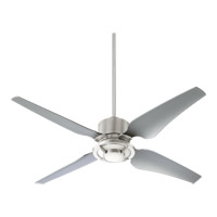 Axel 52 inch Satin Nickel Ceiling Fan