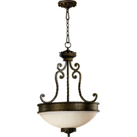 Alameda 3 Light 21 inch Oiled Bronze Pendant Ceiling Light