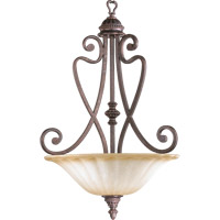 Quorum 8326-4-44 Summerset 4 Light 20 inch Toasted Sienna Pendant Ceiling Light