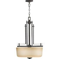 Quorum International Prairie 3 Light Foyer Light in Toasted Sienna 8333-3-44