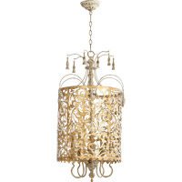 Leduc 5 Light 19 inch Florentine Gold Pendant Ceiling Light