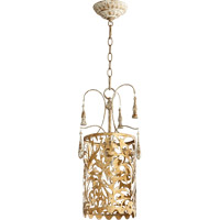 Quorum 8355-61 Leduc 1 Light 11 inch Florentine Gold Pendant Ceiling Light